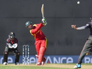 http://dekhnews.com/ Zim defeated the UAE by 4 wickets in their World Cup Pool B match in Nelson