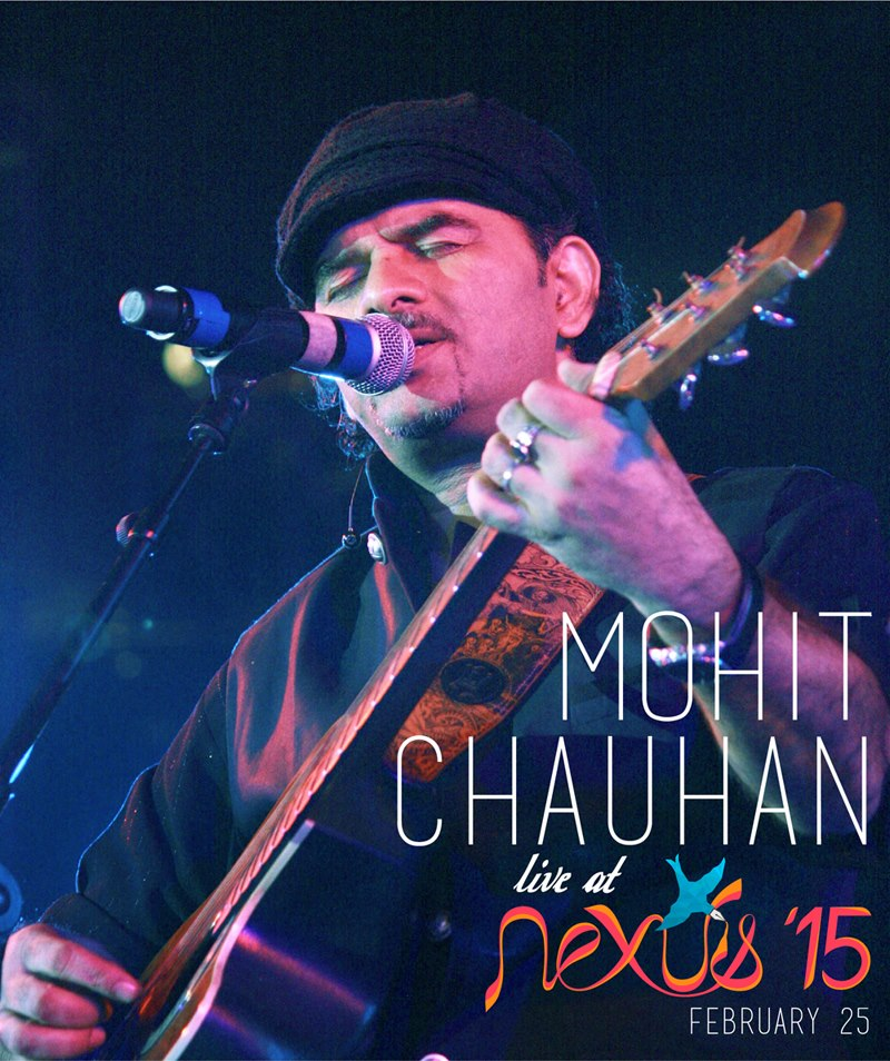 Mohit Chauhan Live At Nexus '15 At Feb 25 - Sri Venkateswara College, Du