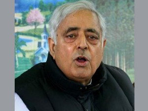 Modi Attending The Swearing Of Pledge With New Kashmir's CM Mufti Mohammad Sayeed