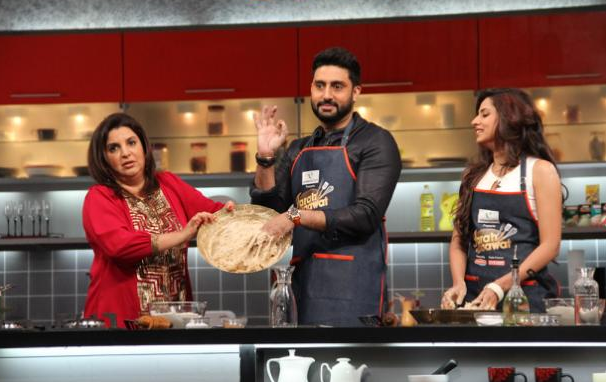 Farah Ki Daawat Ep 1st With Abhishek Bachchan 22nd Feb 2015 HD Video