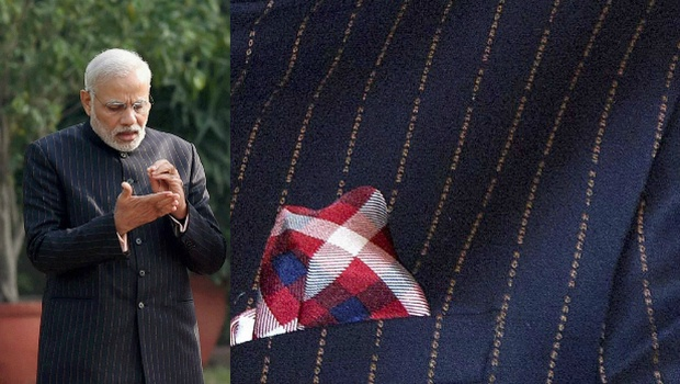 Pm Narendra Modi's Suit Sold In 1Crore In A Gujarat Bidding Auction
