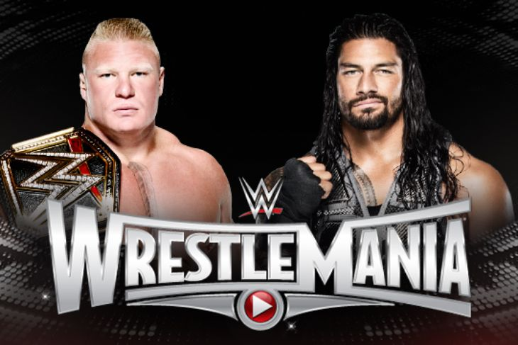 Image result for wrestlemania 31 matches