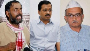 Finally Yogendra Yadav And Prashant Bhushan Freed Out From AAP