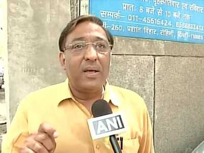 Former Rohini MLA Rajesh Garg Sustained from Aam Aadmi Party For Anti Party Activity