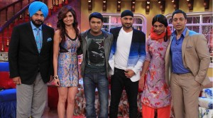 Comedy Nights With Kapil Shoaib Akhtar Harbhajan Singh Ep 1st March HD Video Colors