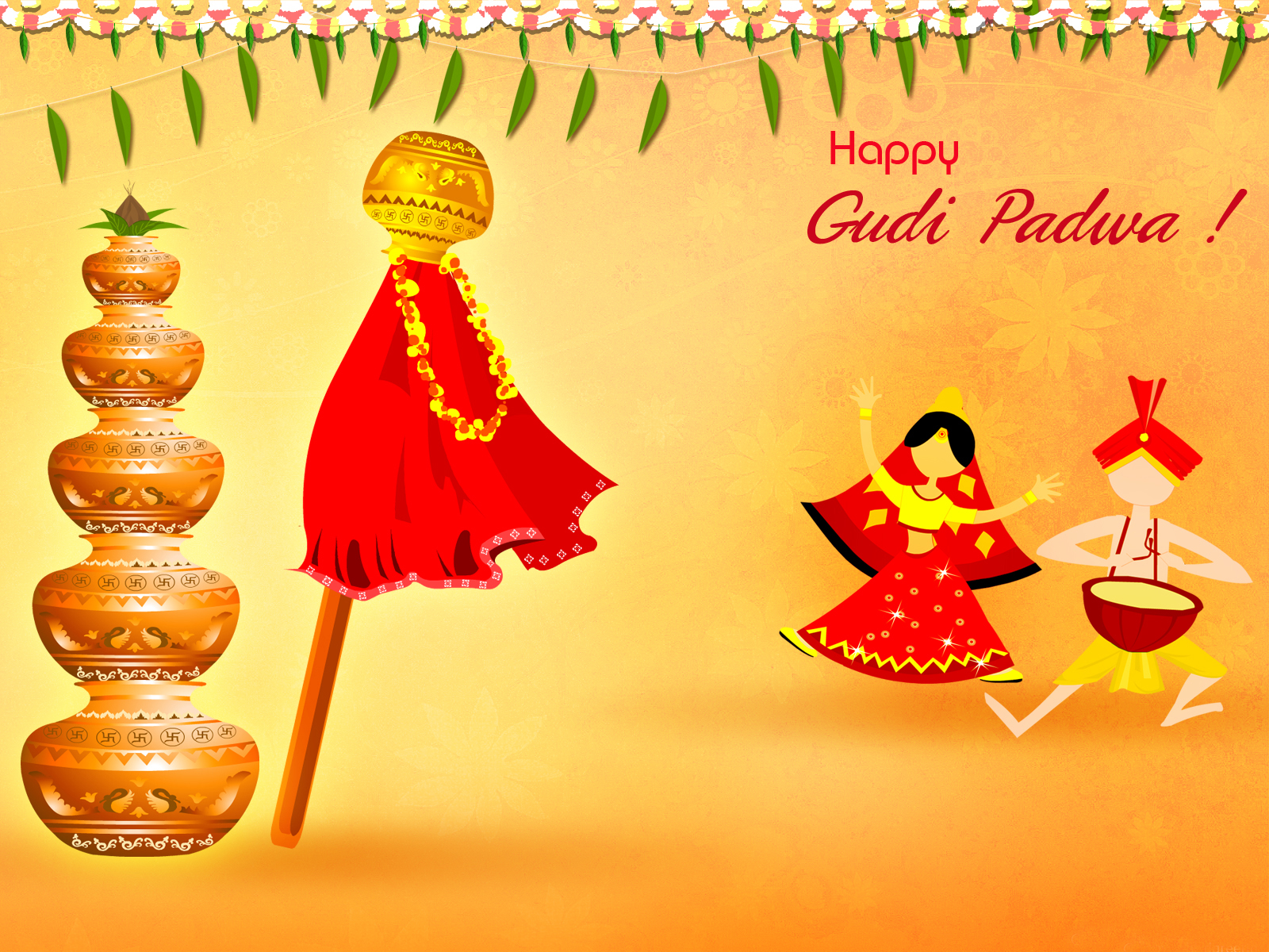 Gudi Padwa Messages Wallpapers
