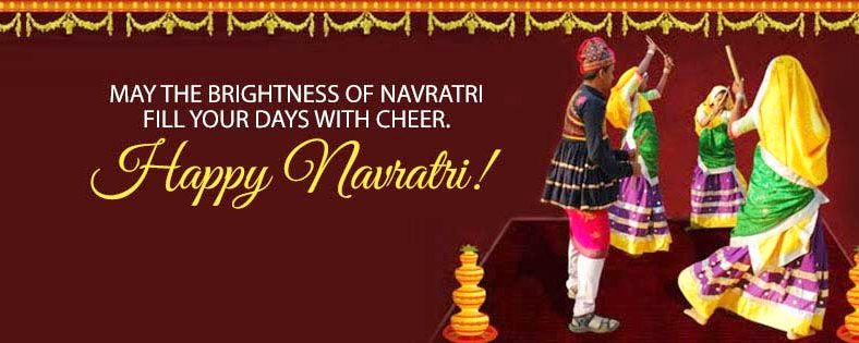 Shubh Navratri FB Cover Images