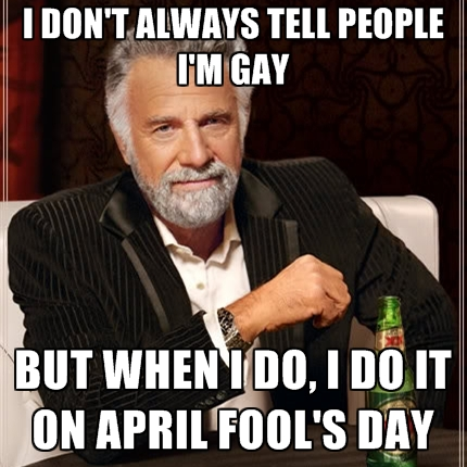 April Fool Day Memes Jokes