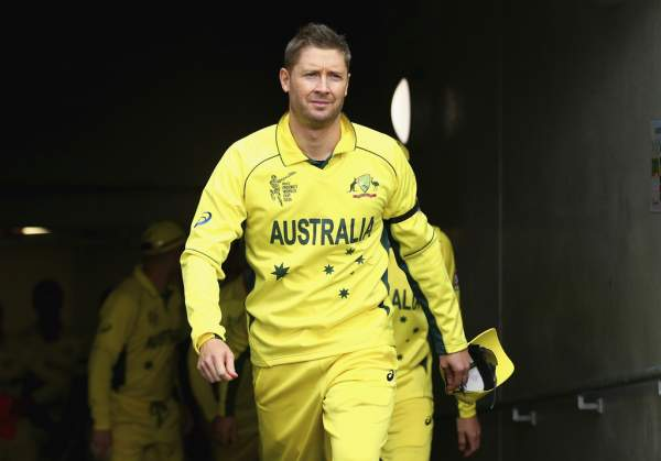 Michael Clarke Announces His ODI Retirement Ahead of The ‪CWC 15‬ Final