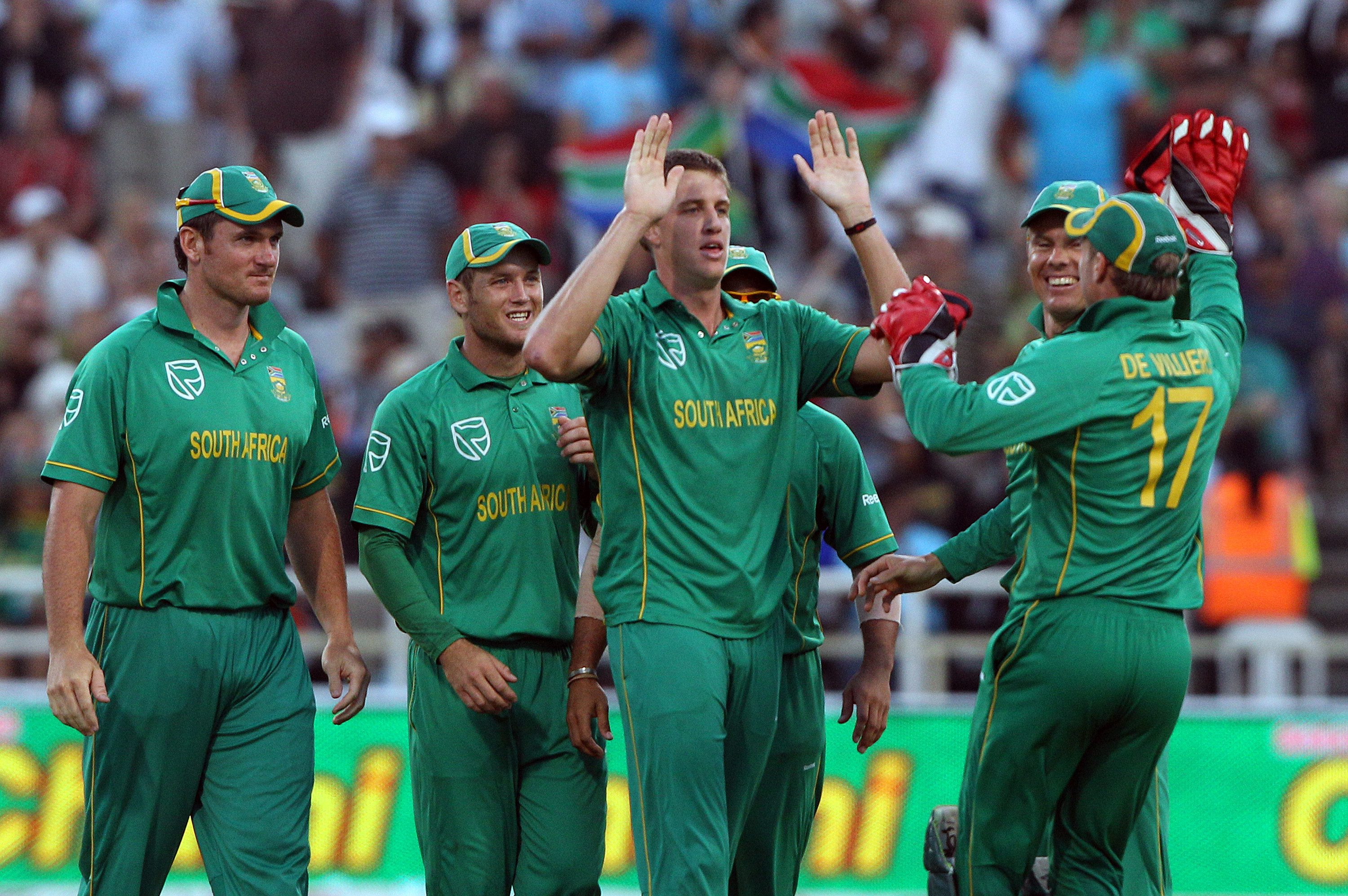 South Africa thrash UAE by 146 runs ICC World Cup 2015 AB de Villiers Morne Morkel shine