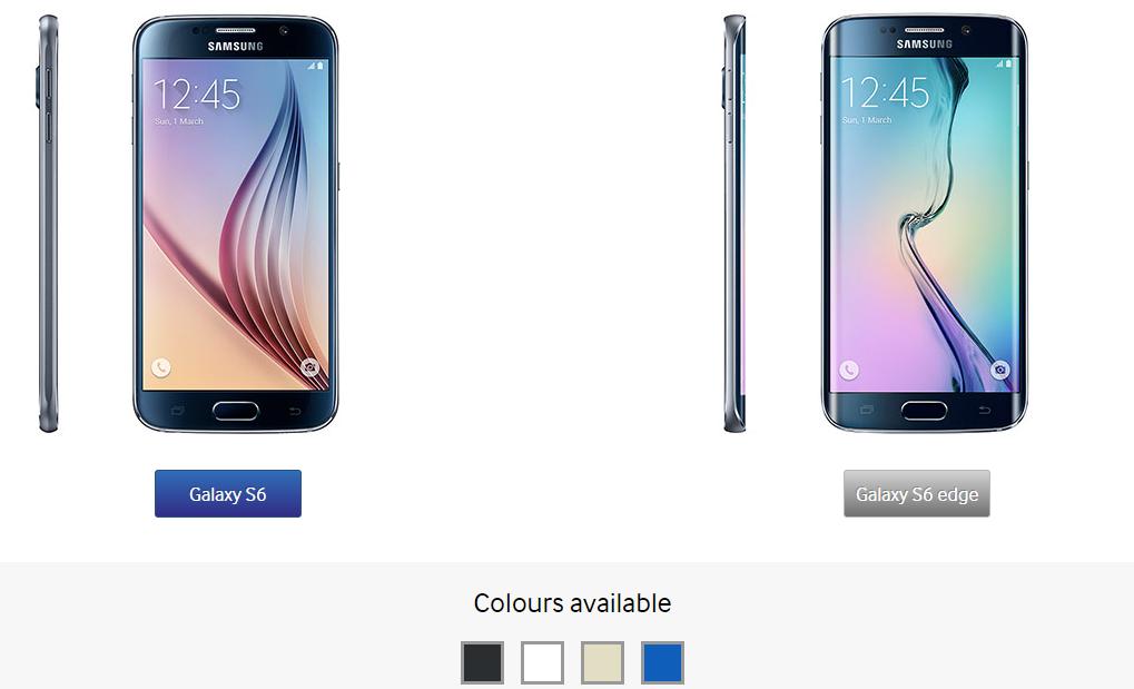Samsung Galaxy S6 & Galaxy S6 Edge