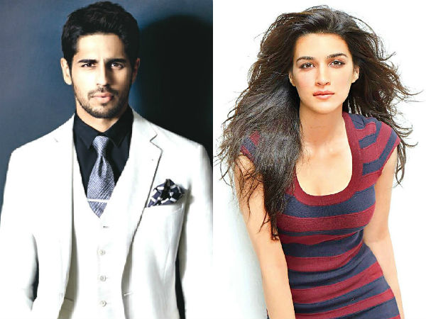 Sidharth Malhotra and Kriti Sanon Team up in As I Am