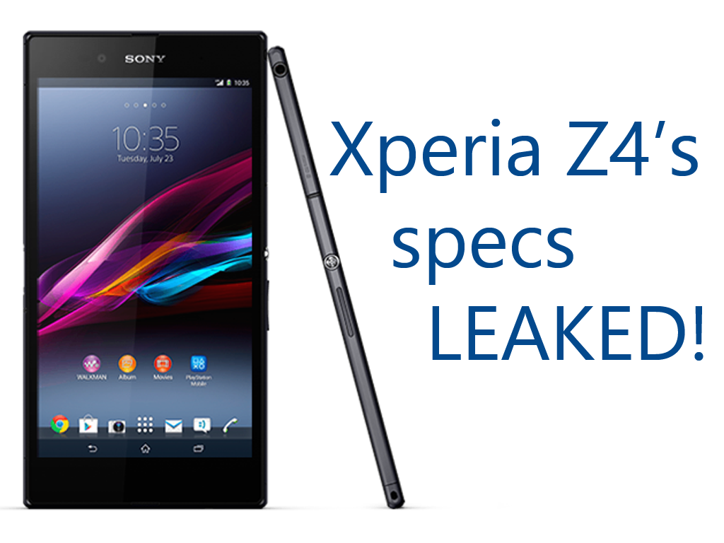 Sony Xperia Z4 Features Specifications Price Release Date Images