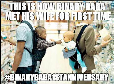 Happy Binary Baba 1st Anniversary Trolls Images Is in Trend