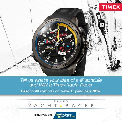 http://dekhnews.com/ Trending New: Yachtlife Timex India Wrist Watch Twitter contest Terms and Conditions