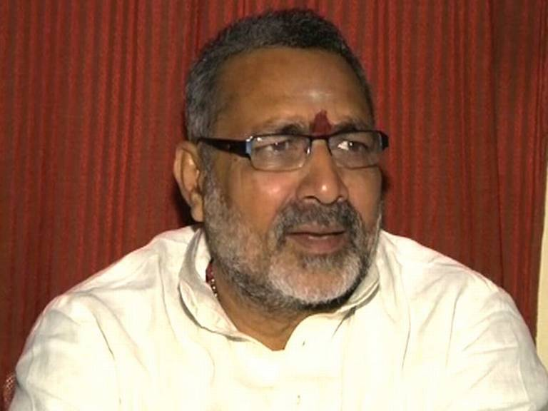 BJP Warns Minister Giriraj Singh Through His Worst Racist Remark
