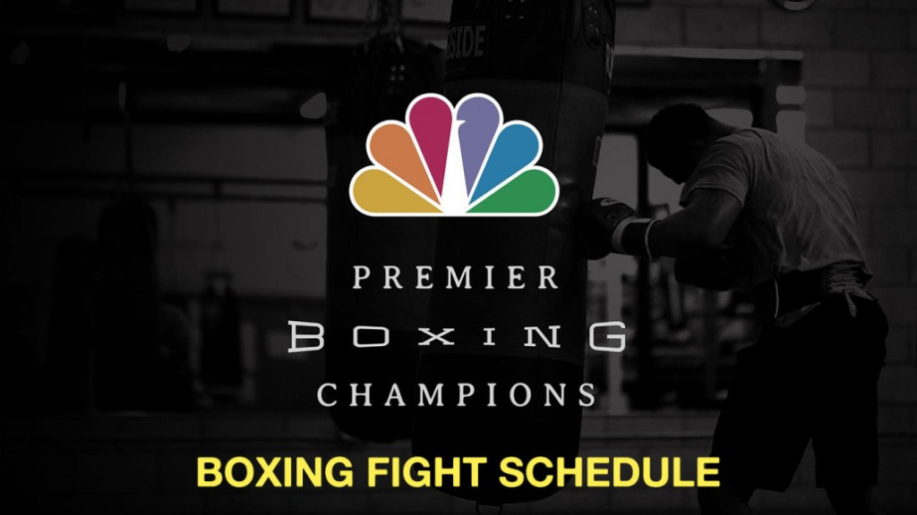 Buy Online Boxing Tickets 2015 Premier Boxing Champions Schedule Watch Live