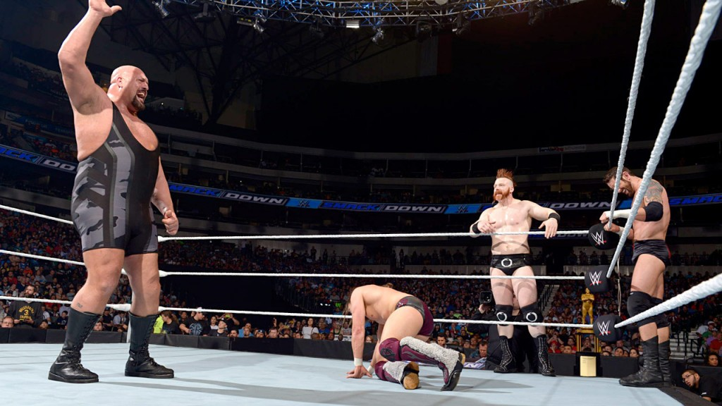 Big Show, Sheamus, Bad News Barrett Vs Daneil Brayan, Roman Reings & Dough Ziggler