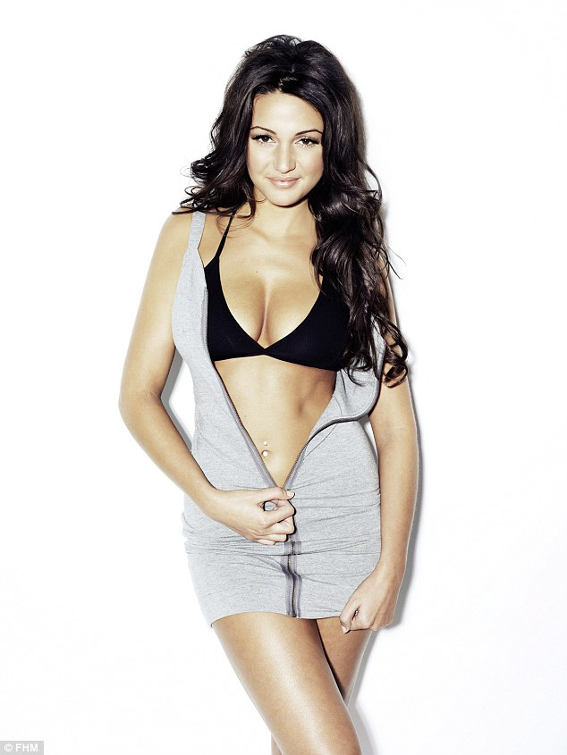 Michelle Keegan Chosen as 'Sexiest Woman in the World 2015' in FHM Magazine Poll