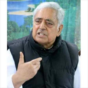 Mufti Mohmmad Sayeed Displaced Community Israeli-Type Separate Clusters For Settlement