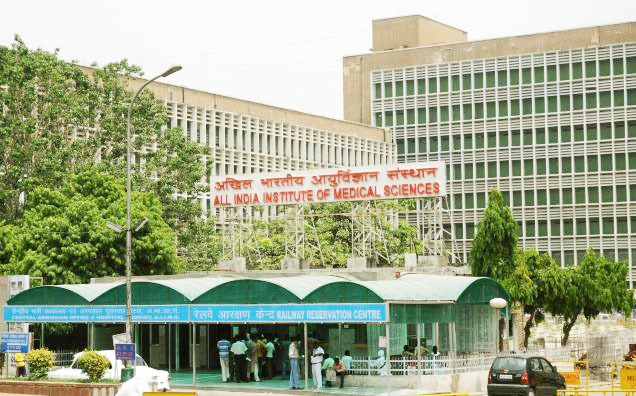 Minor Fire At AIIMS Fourth Floor Due To Short Circuit