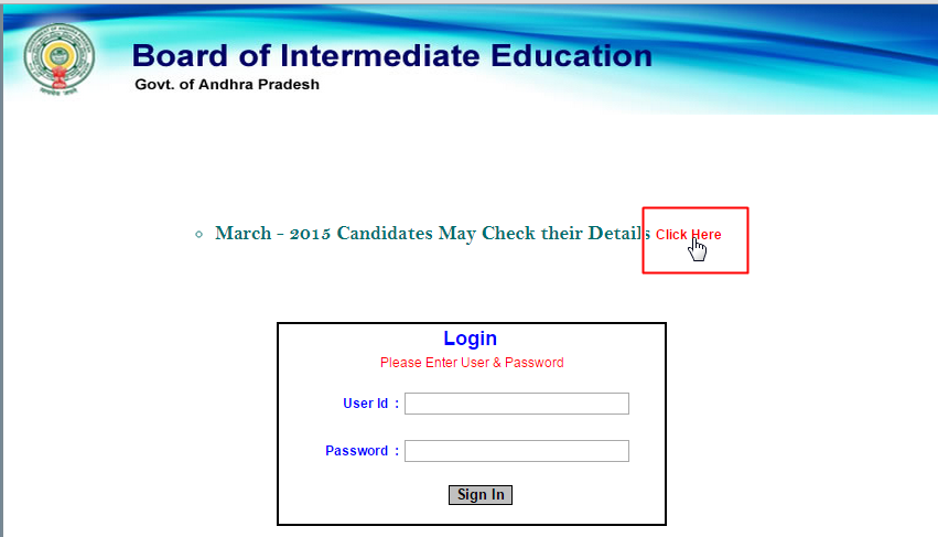 Andhra Pradesh Ap Inter 2nd Year Result 2015