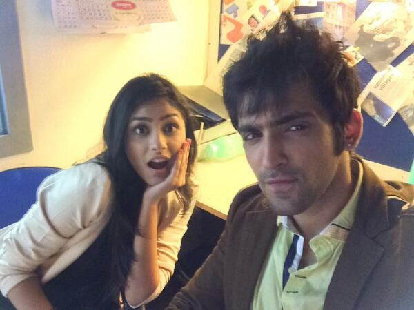 Mrunal Thakur and Sharad Chandra