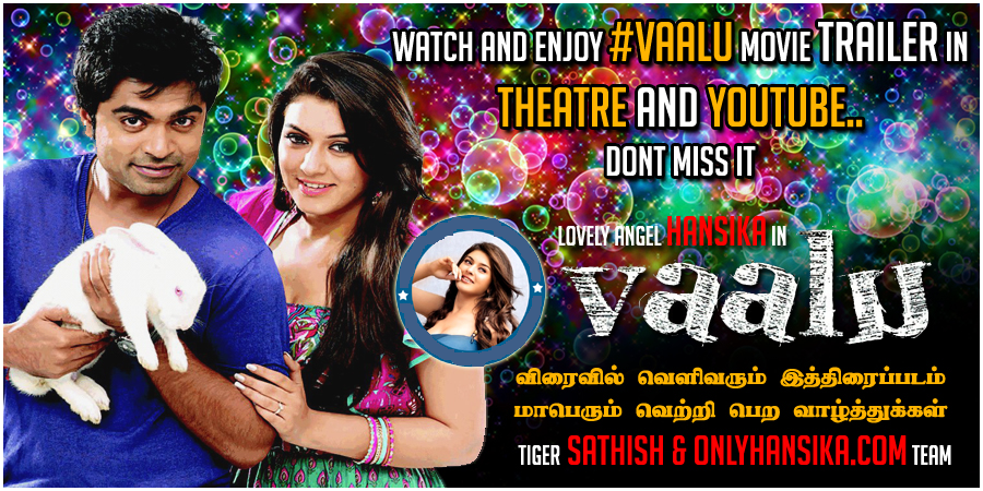 "Tamil Movie ""Vaalu"" Release Date Finalized and Releasing on 9th May 2015"