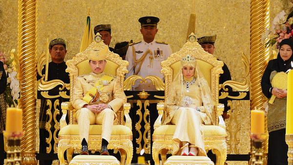 Brunei Sultan's Son's Royal Wedding Pictures