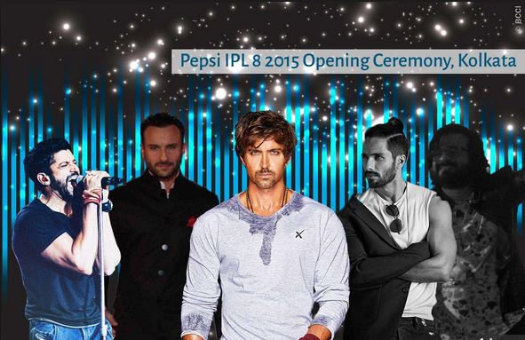 Watch Online IPL 8 2015 Opening Ceremony Live Streaming