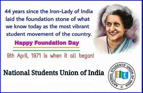 NSUI: 44th Happy Foundation Day