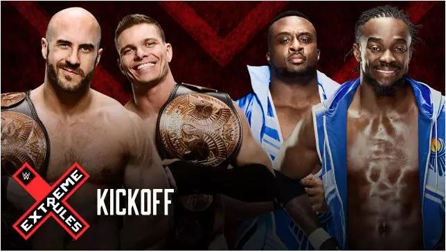 The New Day vs. Cesaro and Tyson Kidd (Tag Team Championship)