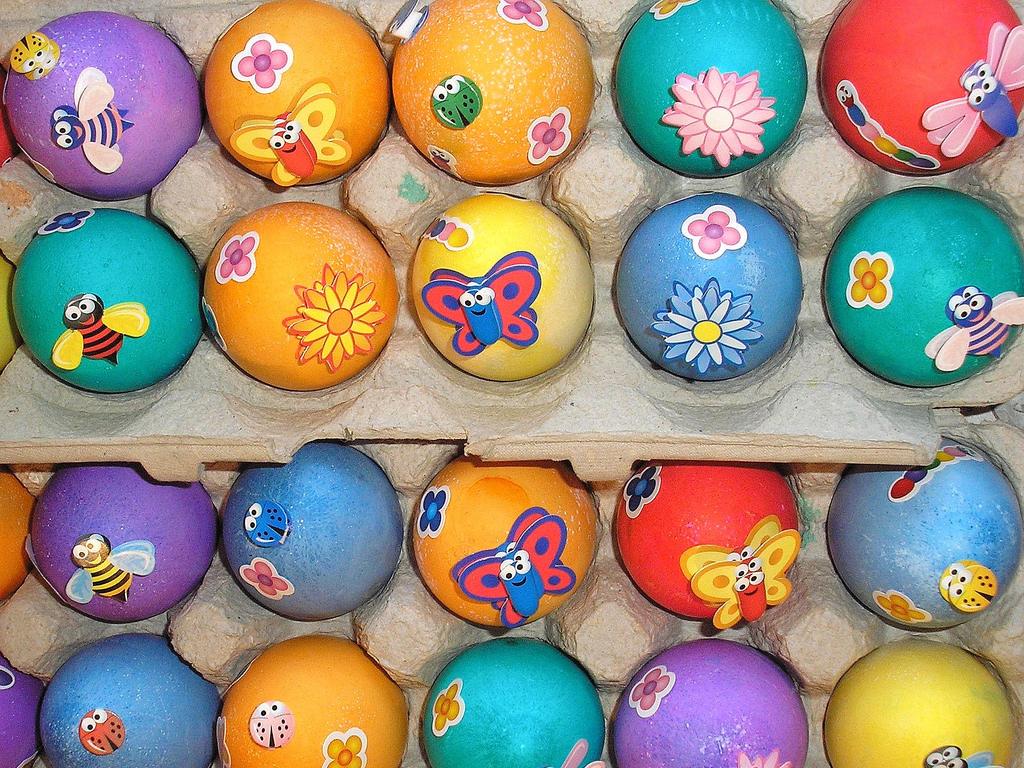Easter Sunday Eggs Design Pics