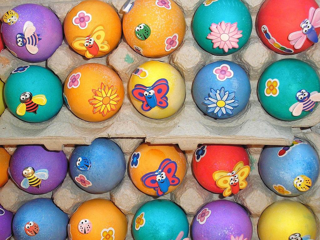 Easter Sunday Eggs Design Pics