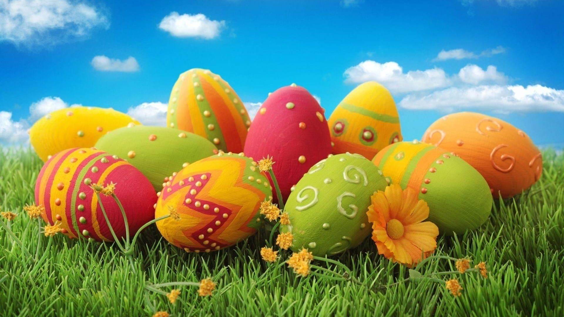 Easter Sunday Eggs Images Pictures