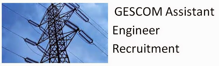 GESCOM Recruitment 2015 Assistant Engineer 71 Apply Online