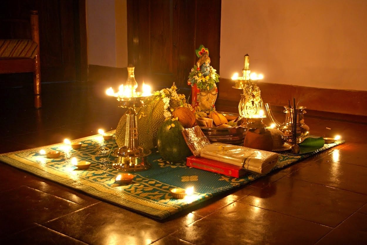 Happy Vishu Kani greetings