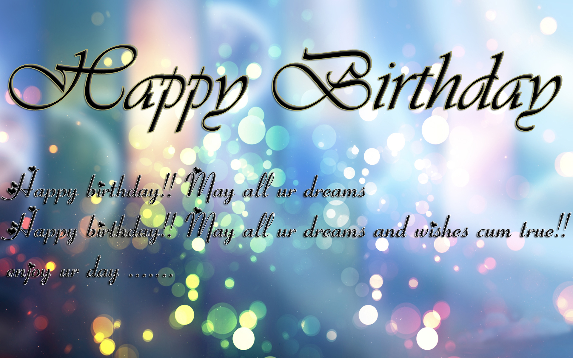 Unique Happy Birthday Wishes Sms Quotes Messages bday Status