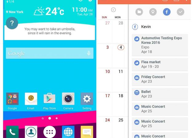 LG UX 4.0 ready to unveil LG G4