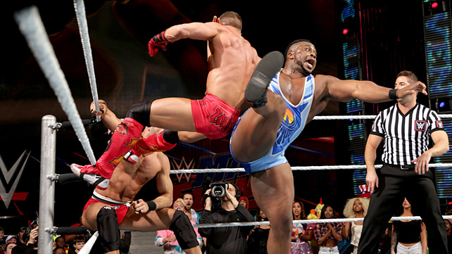 Tyson Kidd & Cesaro vs The New Day