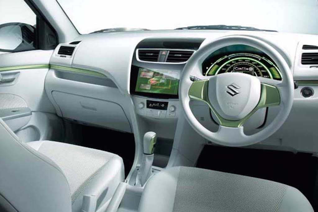 the vehicle has an electric driving range of about 25 5 kms despite