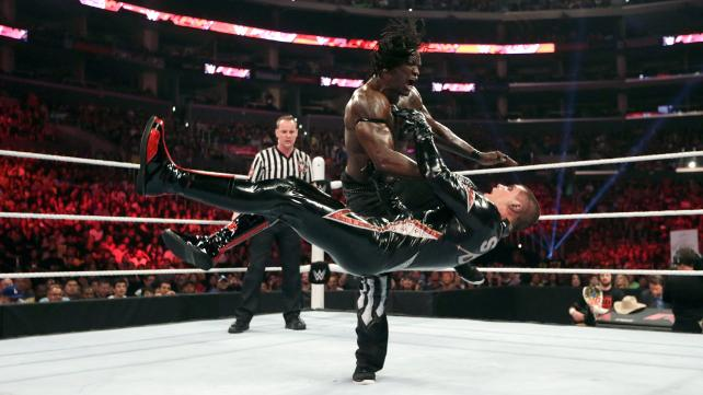 WWE King Of the Ring 2015 Elimination Stardust vs. R-Truth