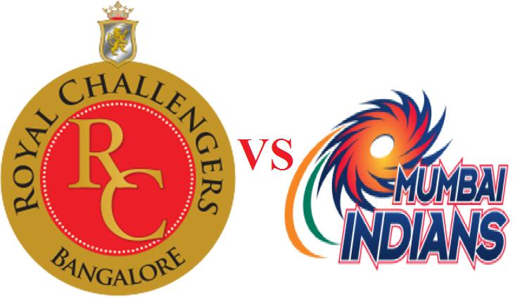 RCB vs MI match 16