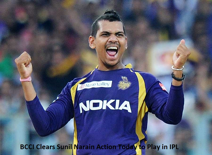 Sunil Narin: BCCI CLears Kolkata Knight Riders Bowler to Play in IPL