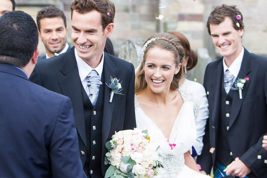 andy murray wedding pics