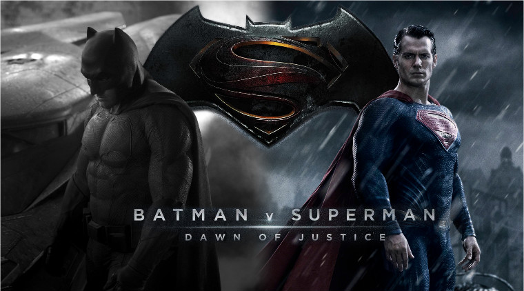 Batman vs Superman Dawn of Justice Movie Trailer Premiere on Monday at IMAX Theaters