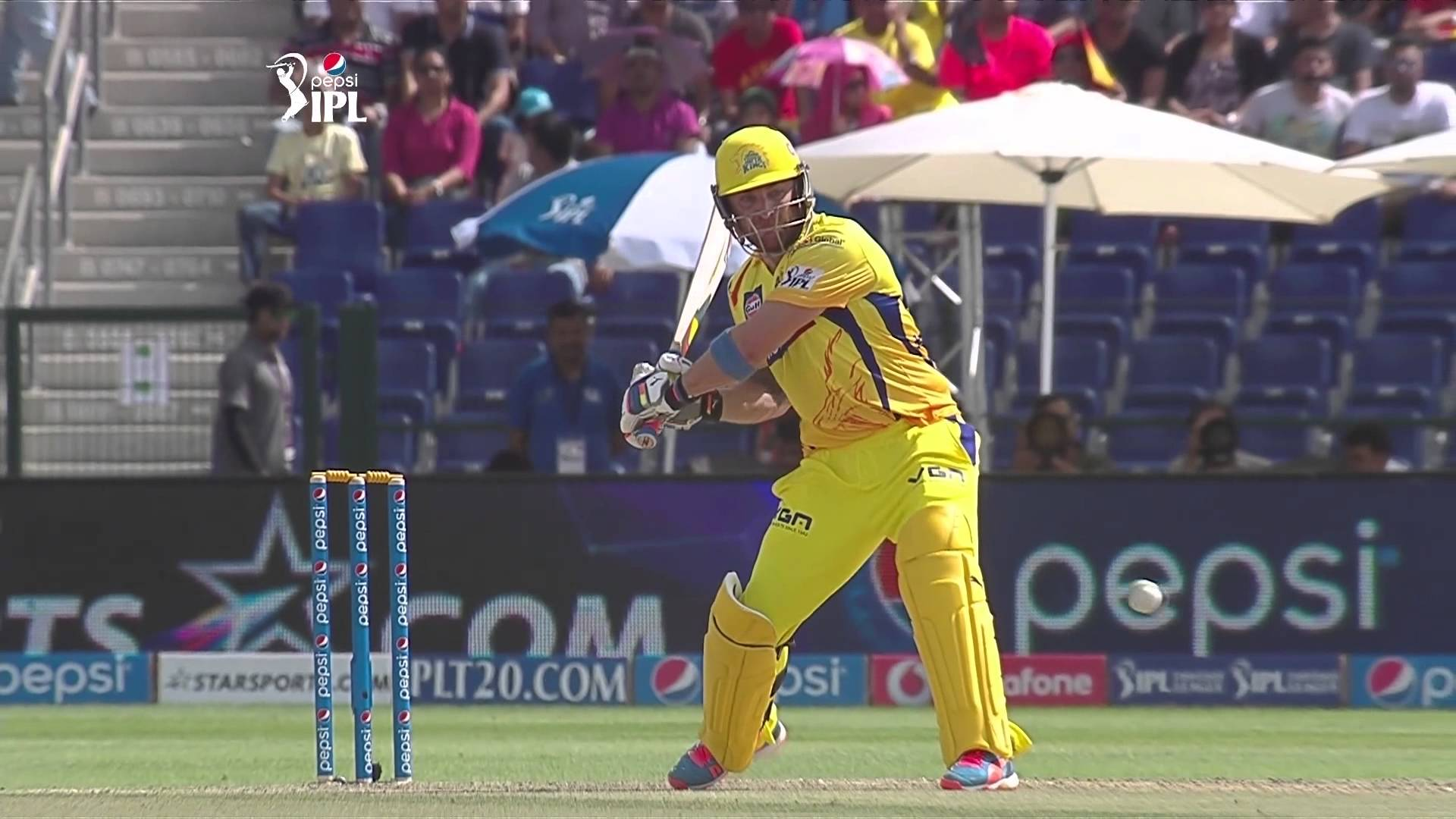Watch CSK Brendon Mccullum blasting 100 Runs 1st century Against SRH