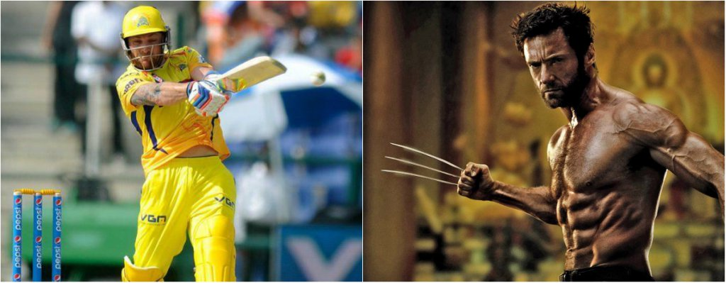 Brendon McCullum (CSK) as The Wolverine