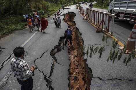 Nepal, Pakistan & North India measures 7.5 Richter scale earthquake today 25 April 2015