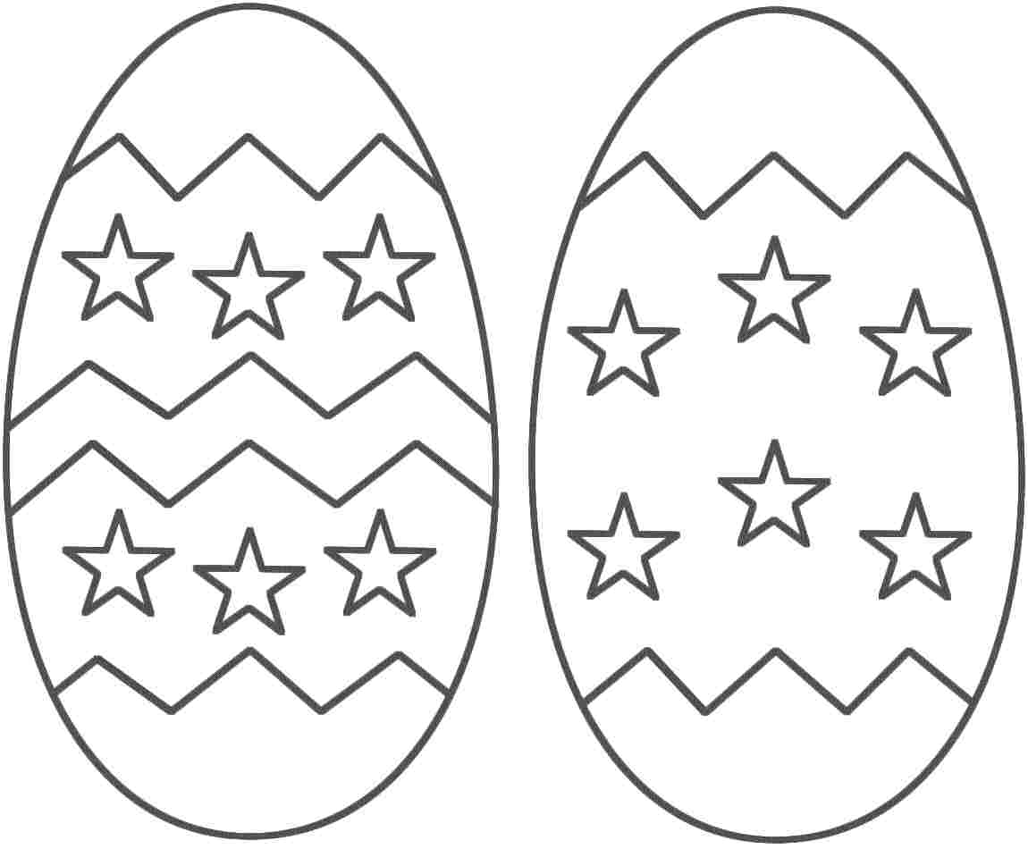 Easter egg coloring pages - Happy Easter Day Eggs Coloring Print Pages Free Printable Crafts 2017